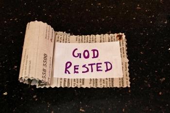 #7 : God rested