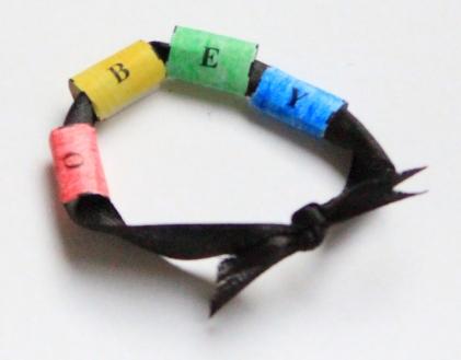 Obey bracelet